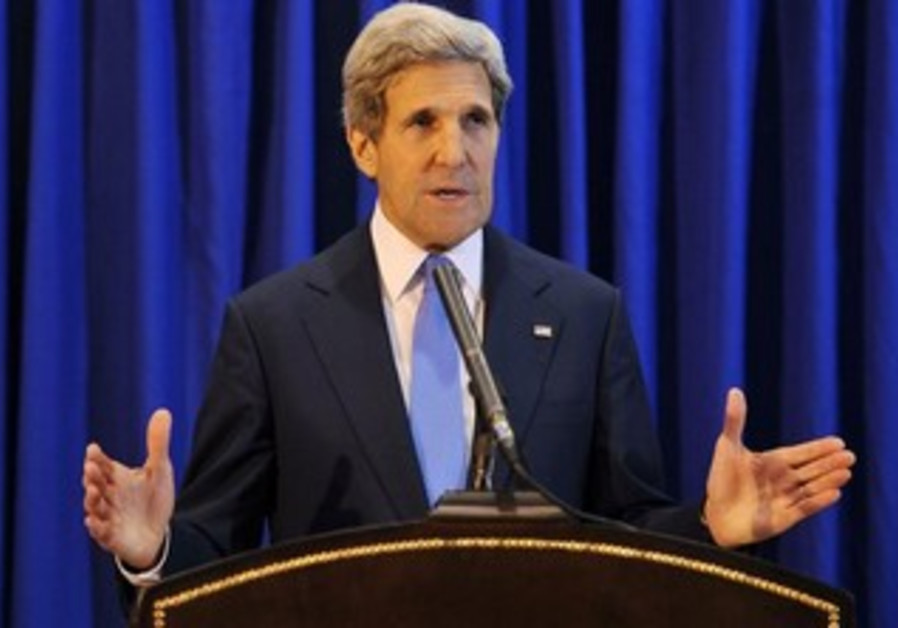 US Secretary of State John Kerry in Amman