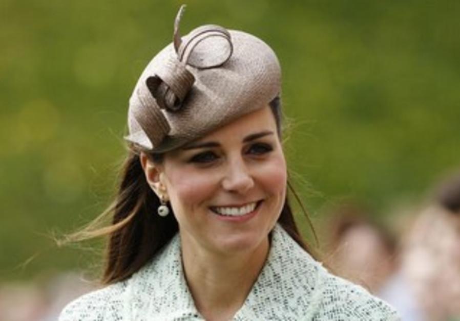Britain's Catherine, Duchess of Cambridge.