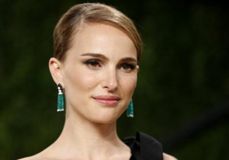 Natalie Portman at the 2013 Vanity Fair Oscars Party