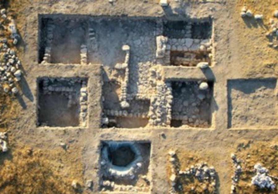 Vue aérienne de Lebna.