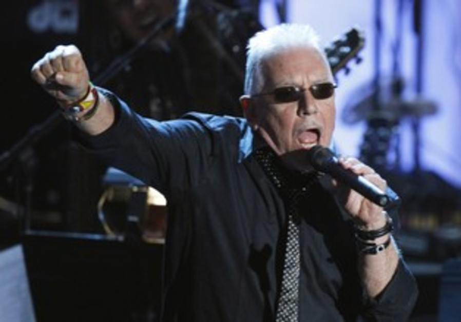 Musician Eric Burdon performs at Waldorf Astoria Hotel in New York