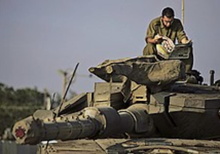 IAF strikes Kassam launchers in Gaza