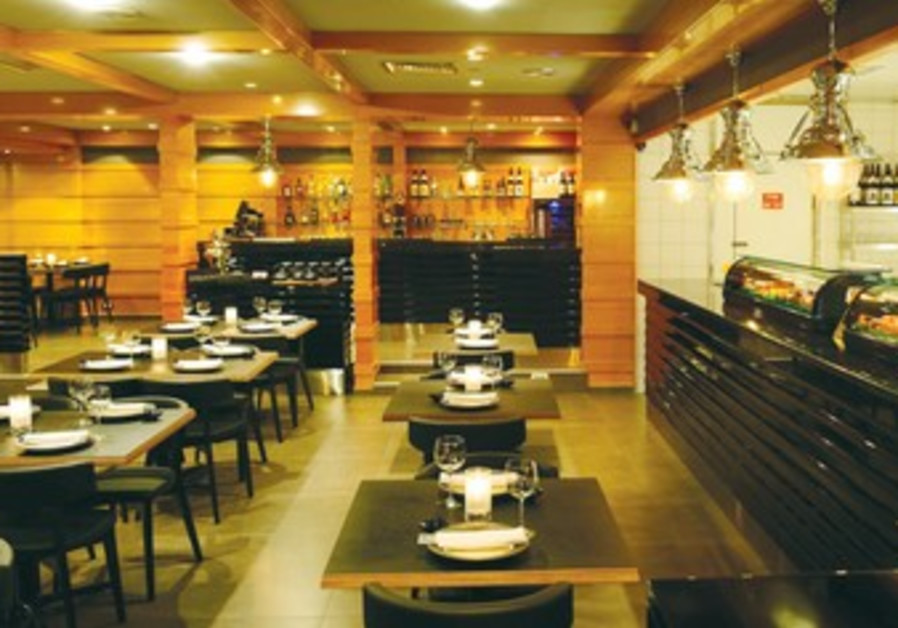Yakimono kosher sushi restaurant at Royal Beach, Eilat