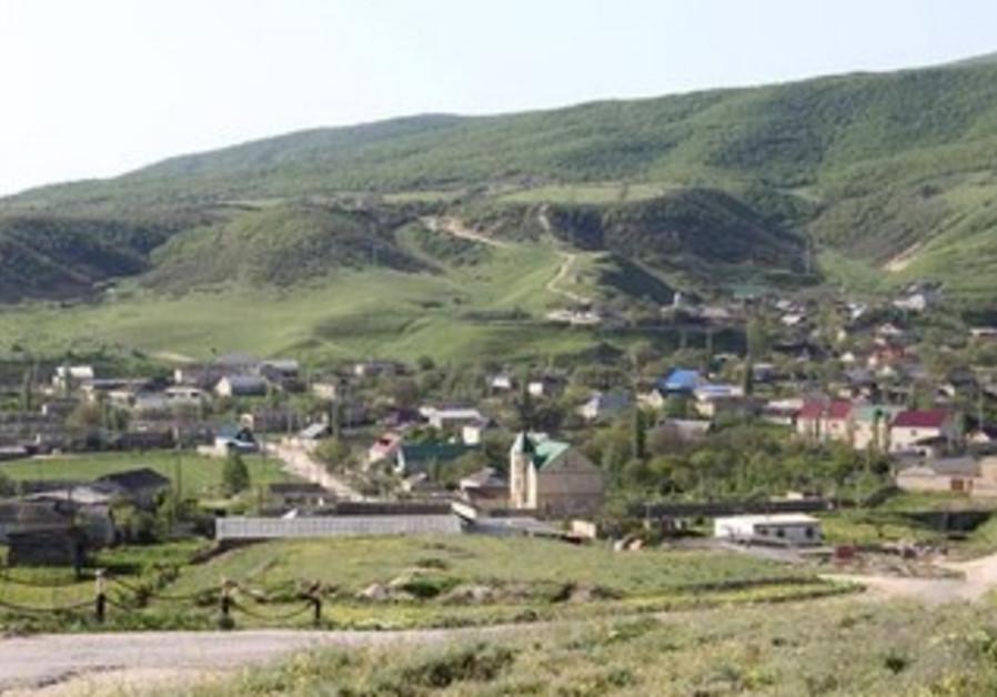 A village in Dagestan