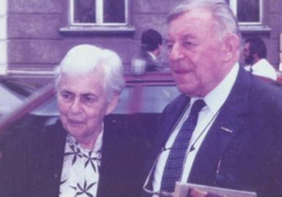 Tamar and Teddy Kollek