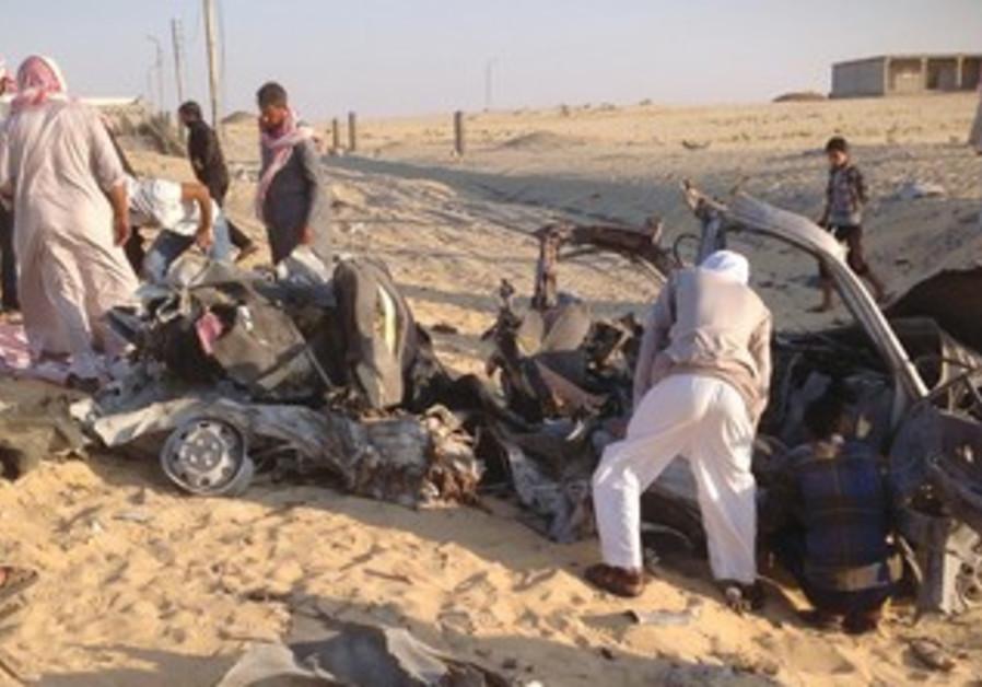 Car bombing in El-Arish