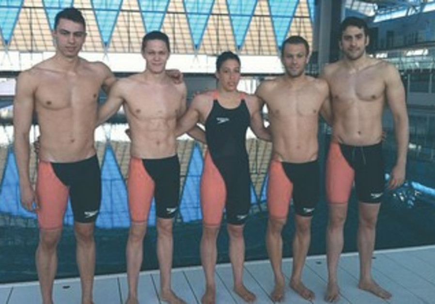 FIVE OF Israel's eight representatives in the upcoming swimming World Championship