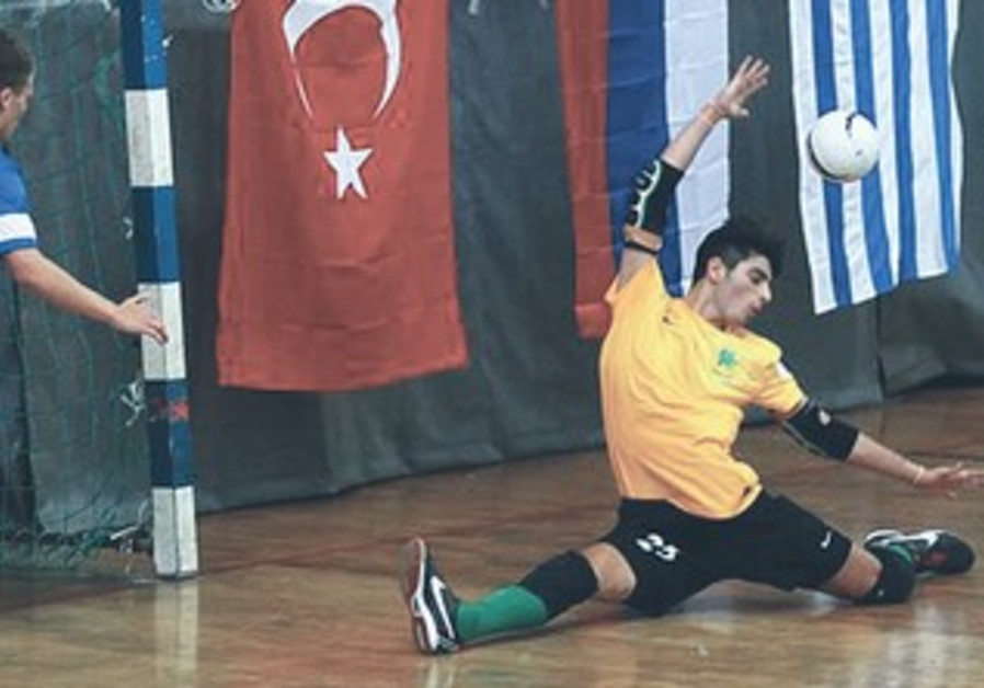 THE MACCABIAH FUTSAL semifinals will take place in Ramat Gan on Sunday.