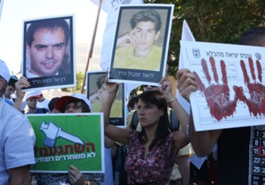 Bereaved families against release of jailed Palestinians