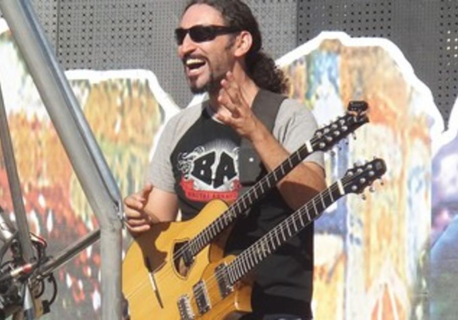 Orphaned Land guitarist Yossi Sassi