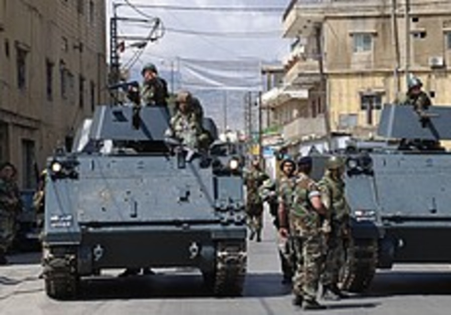 Lebanese army dispels rumors of sectarian strife