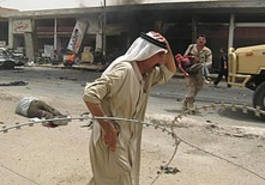 Police: Truck bomb kills 7 people north of Baghdad