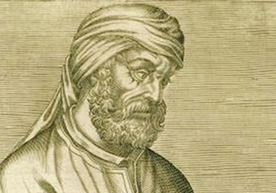 A woodcut illustration depicting Tertullian.