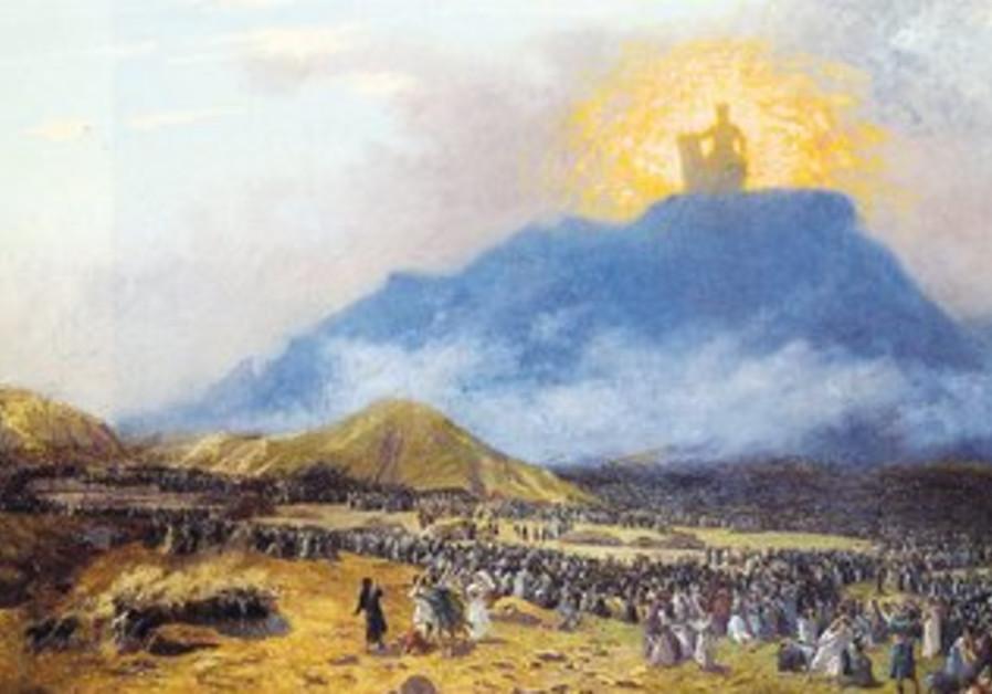 'Moses on Mount Sinai' by Jean-Léon Gérôme.