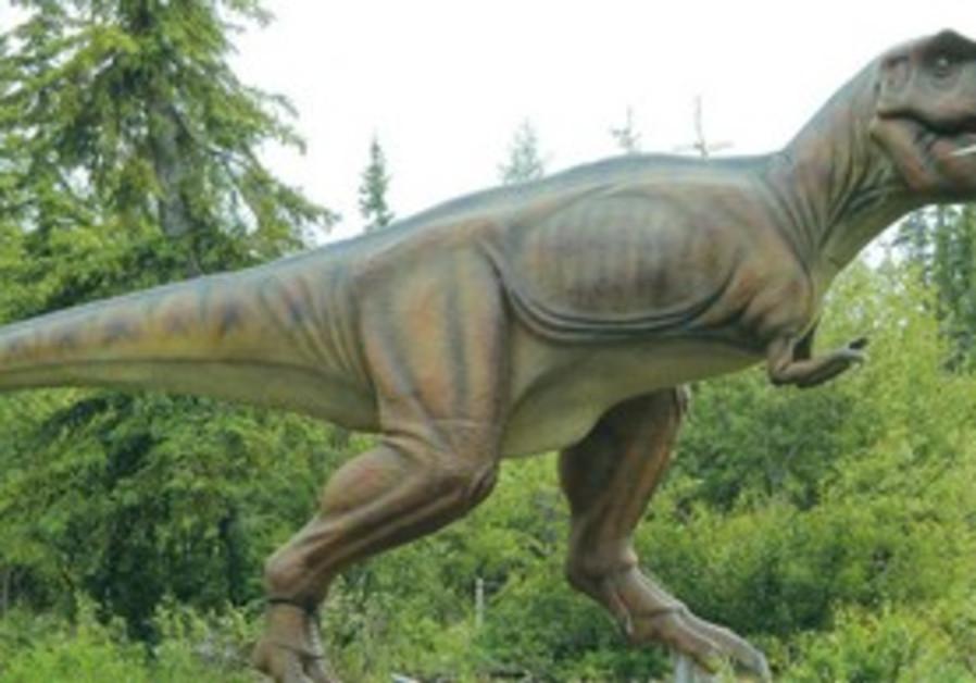 Les dinosaures de l'institut Weizmann