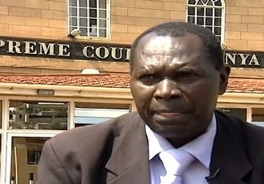 Kenyan lawyer suing State of Israel