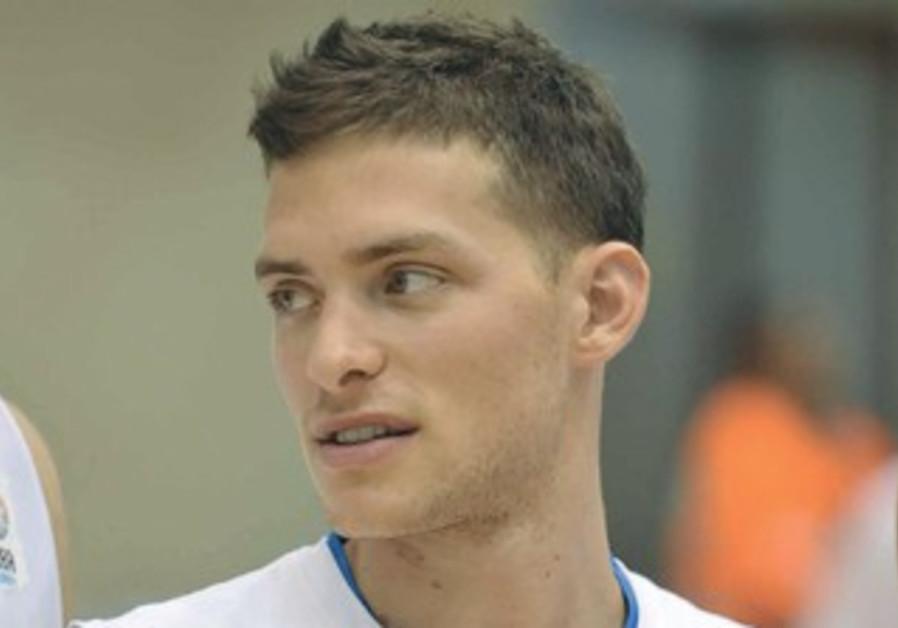 Israeli basketball star Gal Mekel