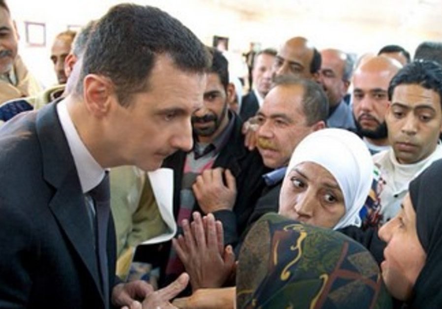 Syrian President Bashar Assad on Instagram