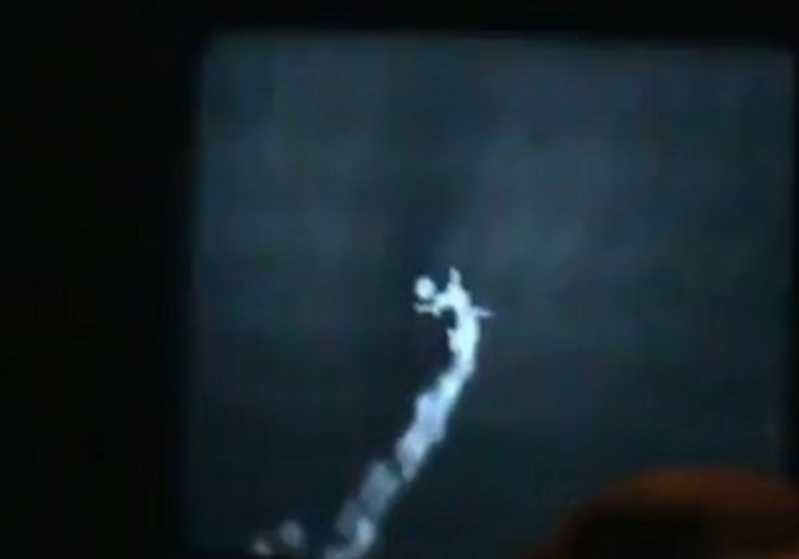 Video showing Syrian rebels use surface-to-air missile to down Assad regime jet.