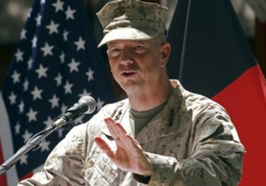 US General John Allen ready fo difficult role.