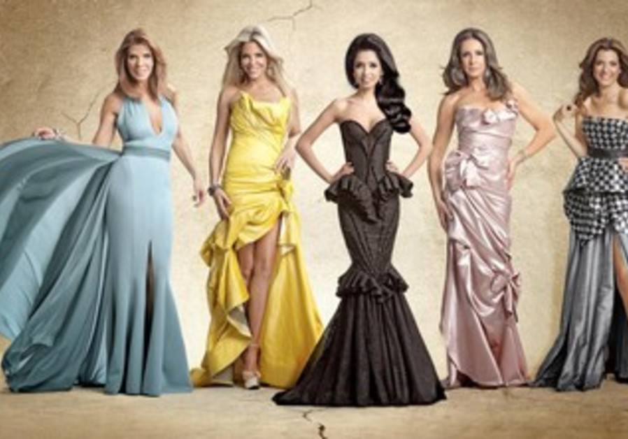"""The five protagonists of """"Meusharot,"""" Israel's version of the """"Real Housewives"""""""
