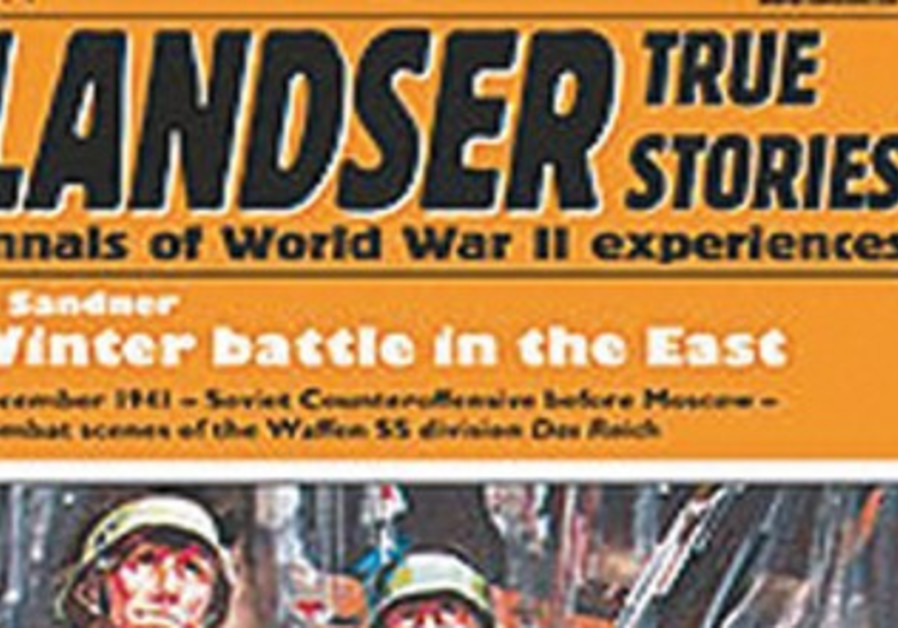 THE COVER of the 'Der Landser' magazine's English edition.