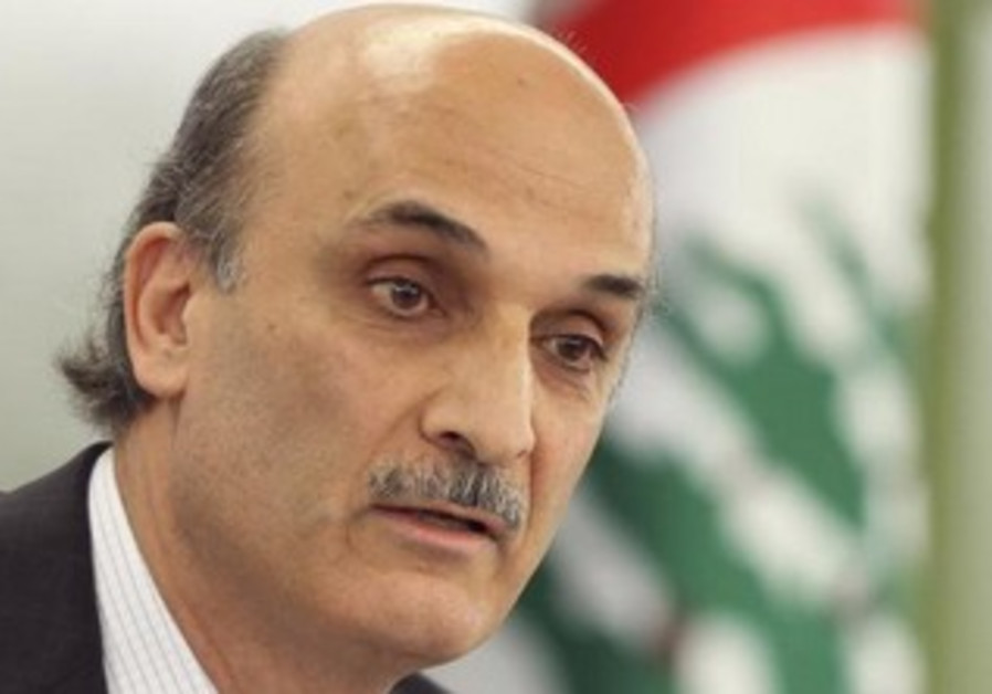 Lebanese Christian leader Samir Geagea