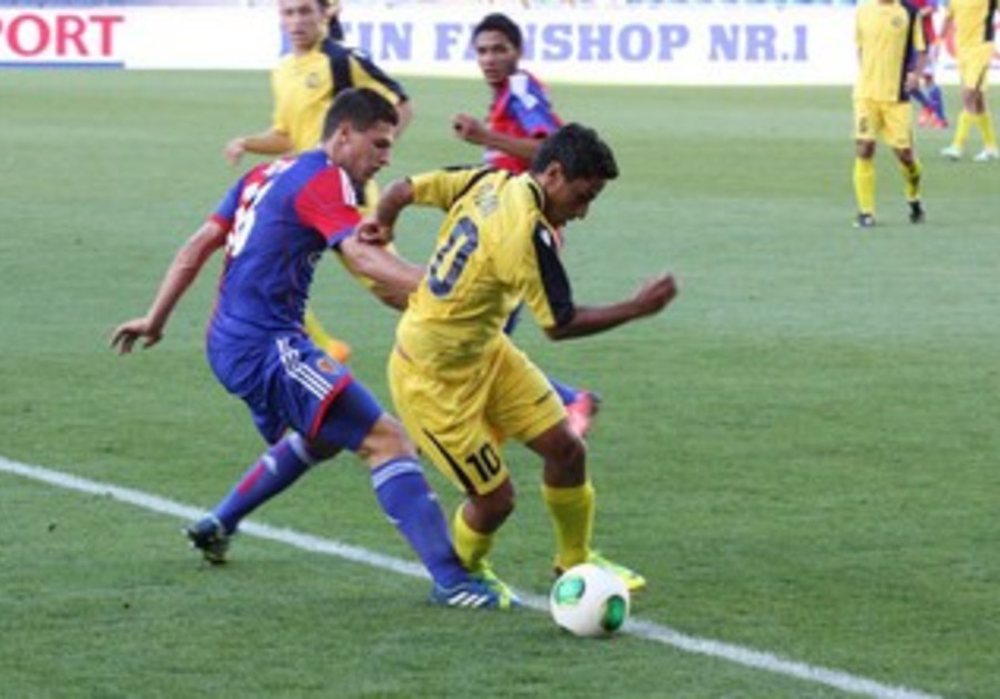 MACCABI TEL AVIV striker Barak Itzhaki