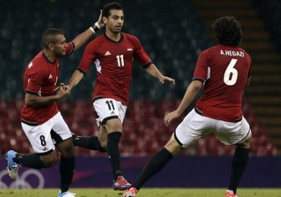 Egyptian soccer player Mohamed Salah