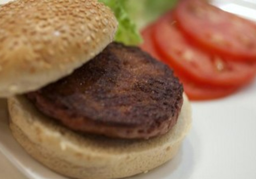 The world's first lab-grown beef burger.