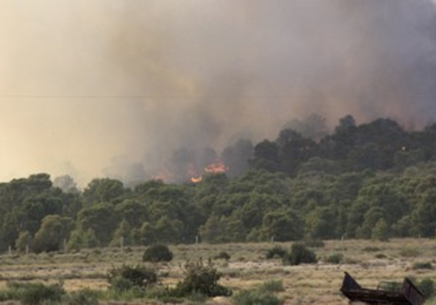 Tunisian forces launch air strikes