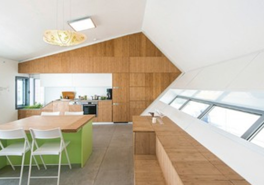 The Israeli eco-house