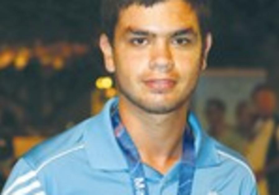 Israeli golfer Yair Thaler