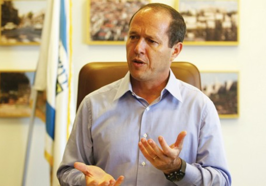 Jerusalem Mayor Nir Barkat.