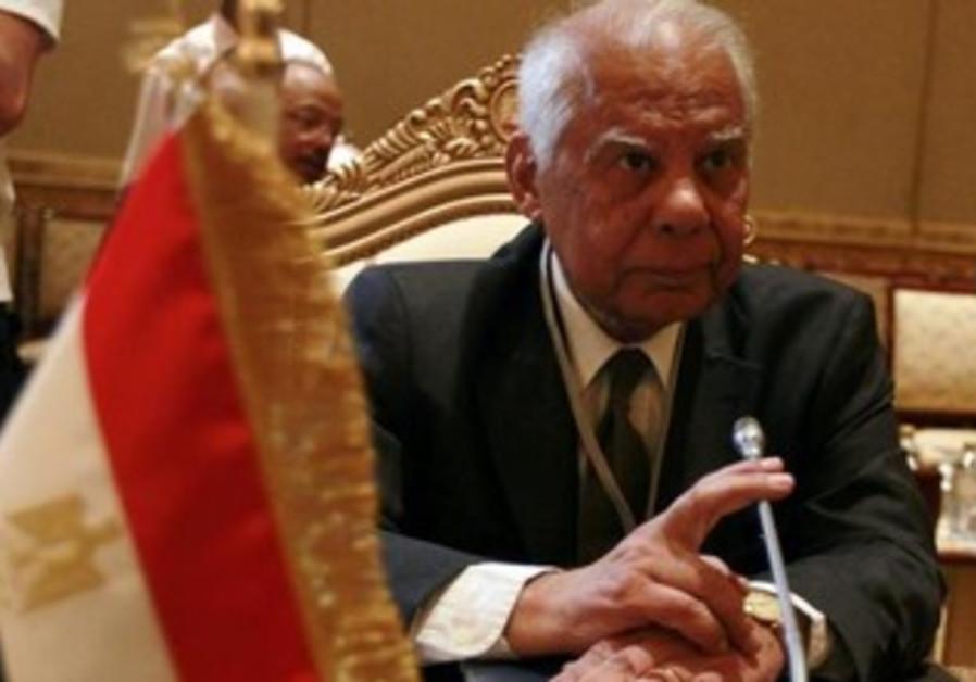 Egyptian Prime Minister Hazem el-Beblawi