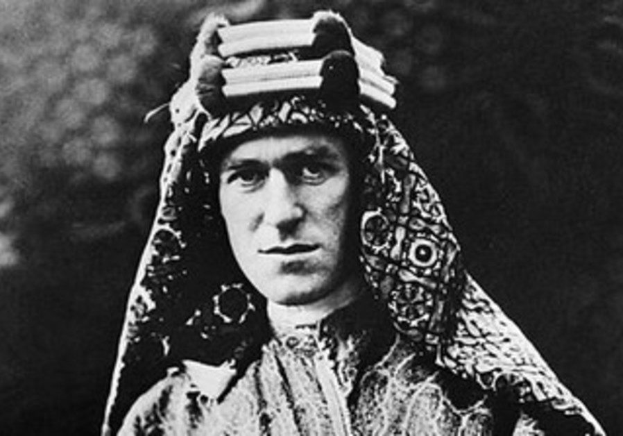 T.E. Lawrence, aka Lawrence of Arabia