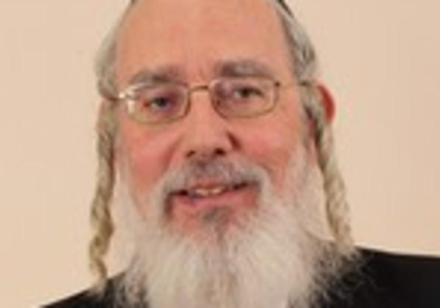United Torah Judism MK Yisrael Eichler.