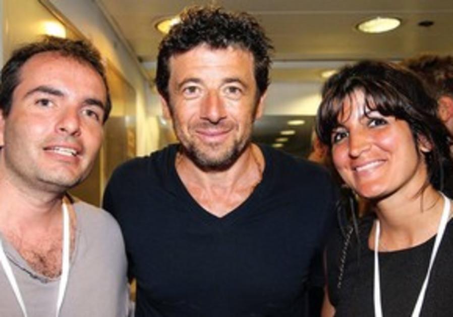 Les donateurs français ont rentré Patrick Bruel en coulisses lors de son concert à Tel Aviv.