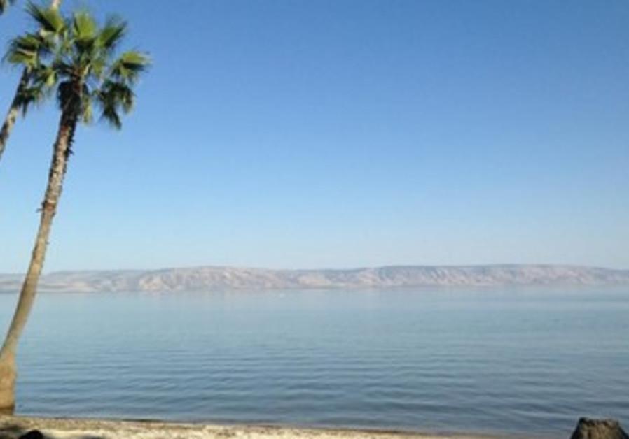 Lake Kinneret.
