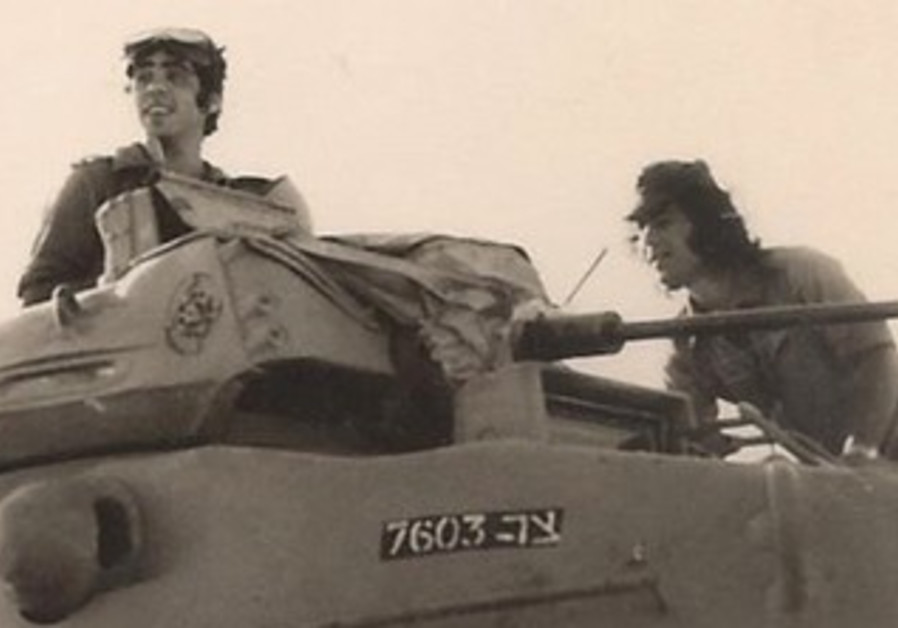 IDF RESERVISTS for the 600th Brigade train at Tze'elim.