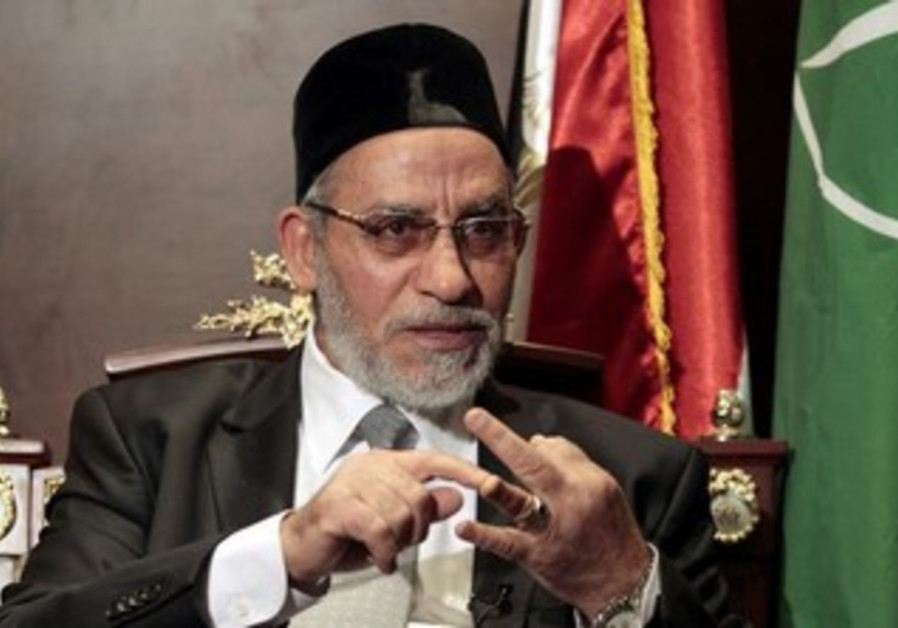 Muslim Brotherhood leader Mohamed Badie