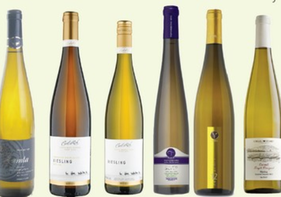 Selection of Riesling wines