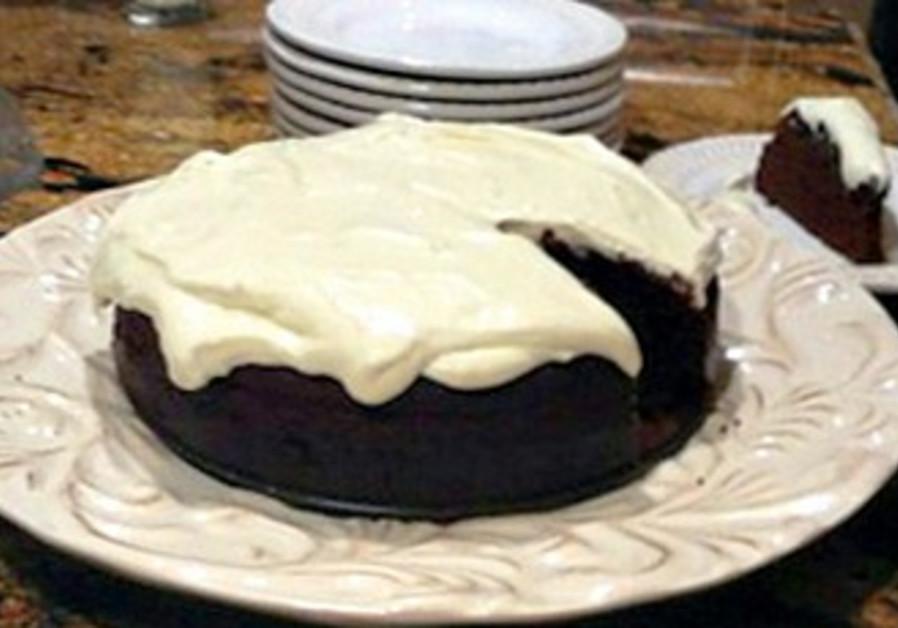 Honey and Dark Beer Chocolate Cake