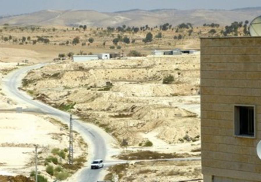 Les emplacements que le gouvernement a réservés aux Bédouins sont inoccupés depuis des années à Hura