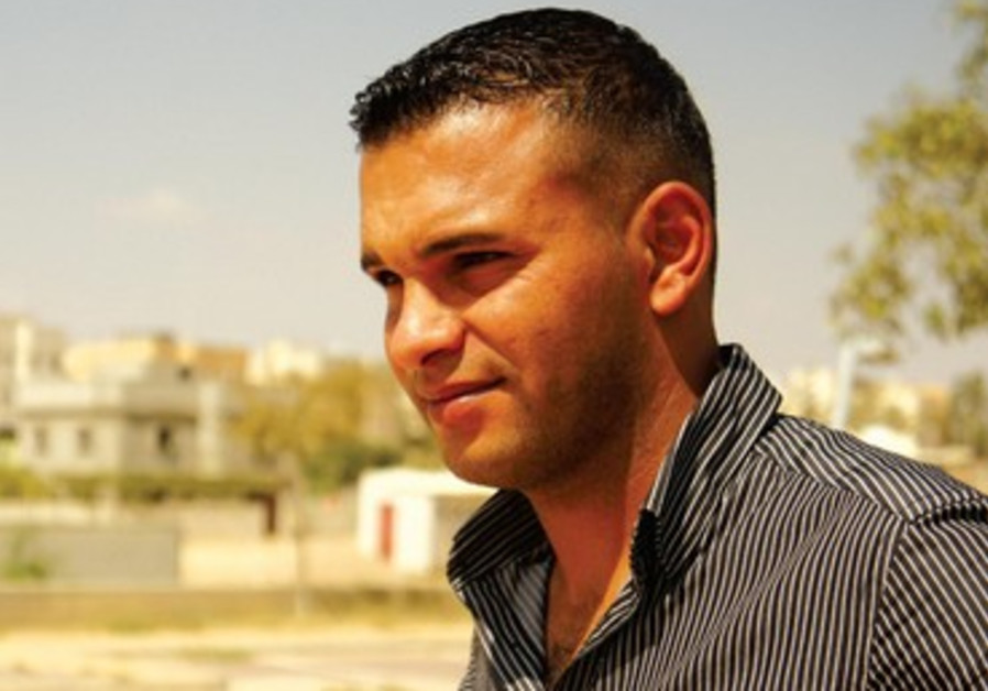 Mofeed Abu Swelim, éducateur à Segev Shalom.
