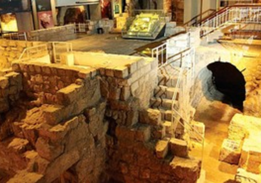 Le musée d'Hérode fait partie de toute visite archéologique de la Vieille Ville.