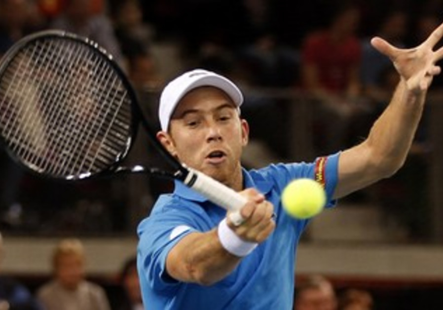 DUDI SELA fought back on Monday night after losing consecutive sets to win the decisive fifth set