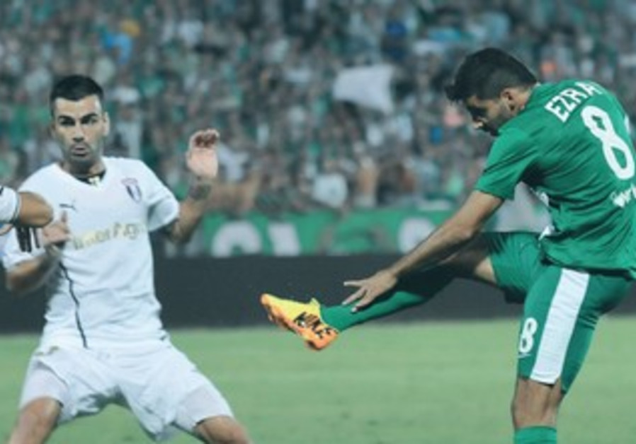 HEN EZRA (right) will be looking to continue his good form for Maccabi Haifa.