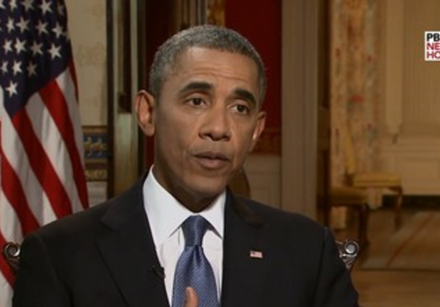 Obama discusses Syria in PBS interview