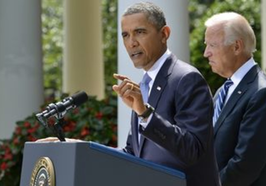 US President Obama speaks athe the White House